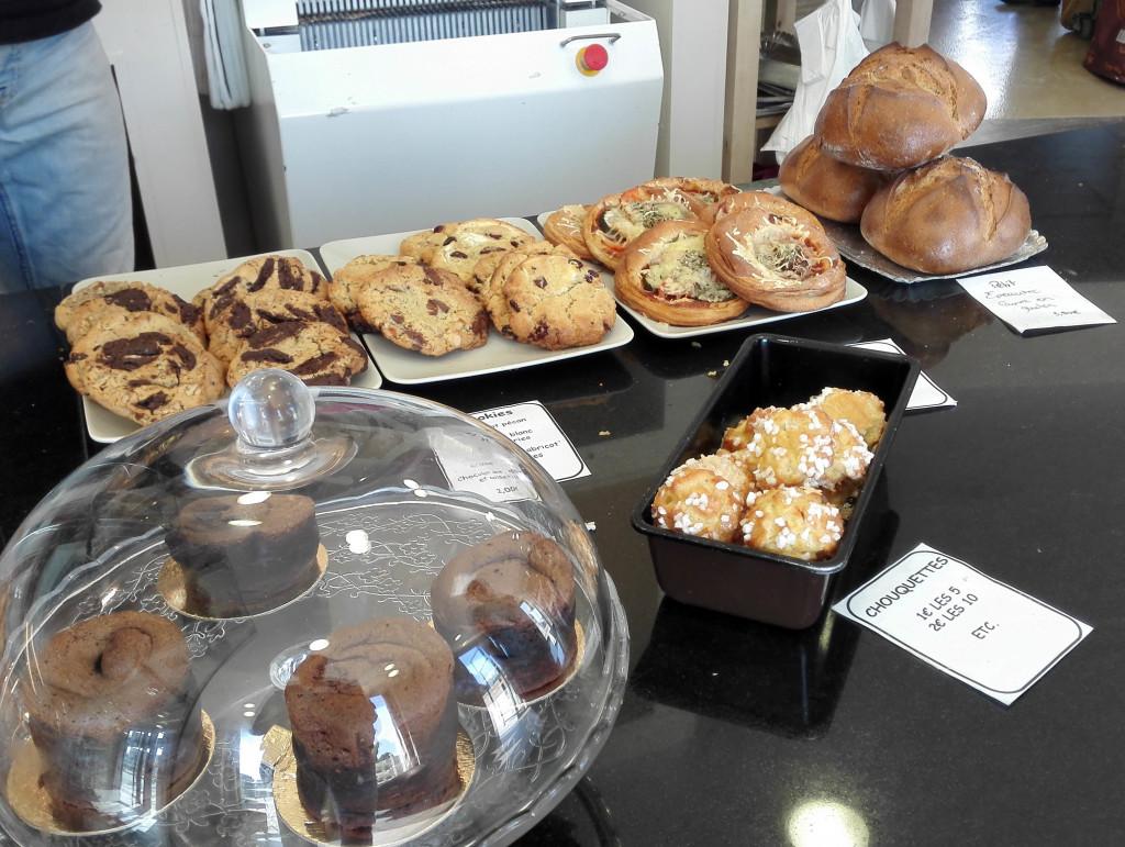 Les cookies et le pain de Petit Epeautre, dernier né de la gamme.