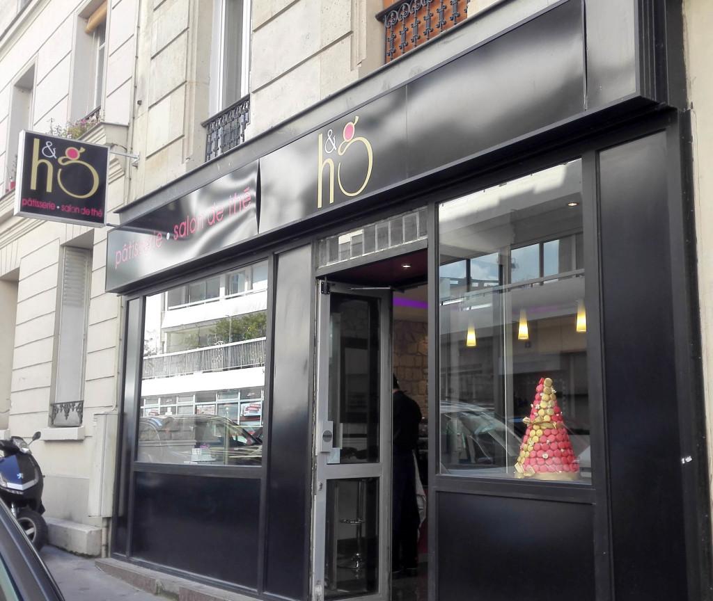 Façade, Pâtisserie H&G, Paris 13è