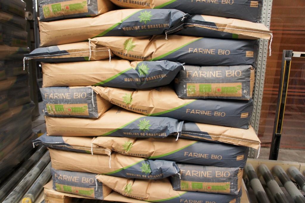 Sacs de farine Biologique, Moulins de Brasseuil (78)