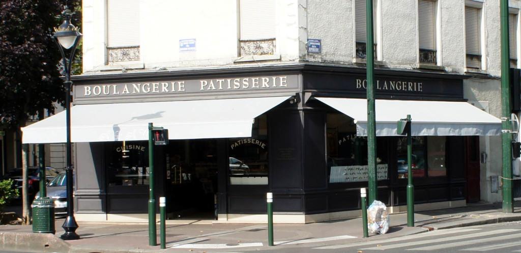La boulangerie du couple Mars, gérant de l'affaire reprise par Jean-Noël Julien à La Garenne Colombes