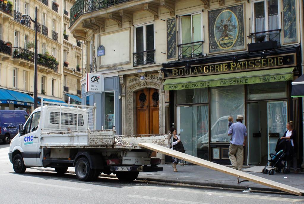 Le 14 rue Monge en chantier