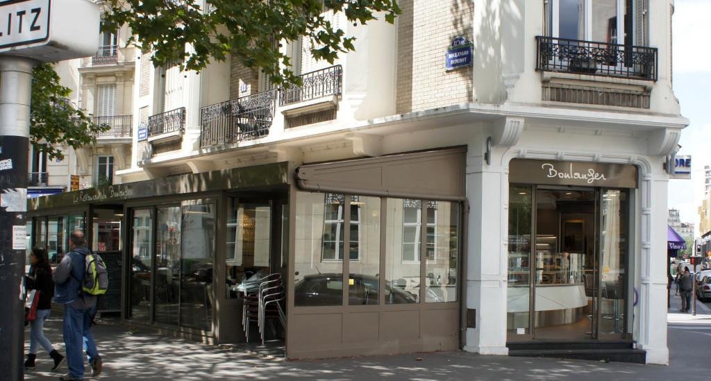 La future boulangerie Kayser du boulevard Diderot
