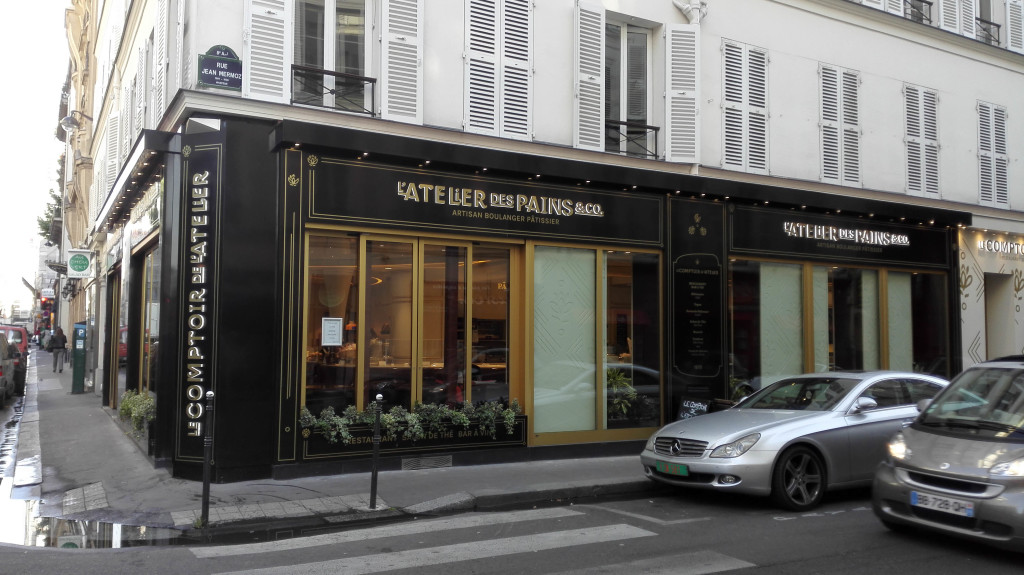 L'Atelier des Pains & Co, rue de Ponthieu, Paris 8è