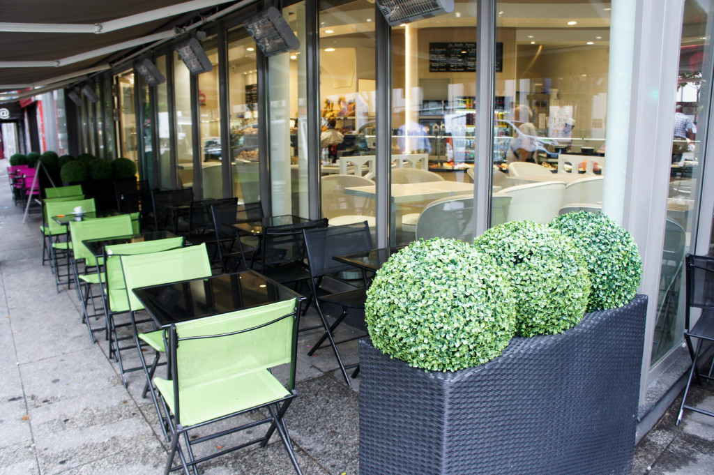 Terrasse, Maison Bichon, Paris 10è