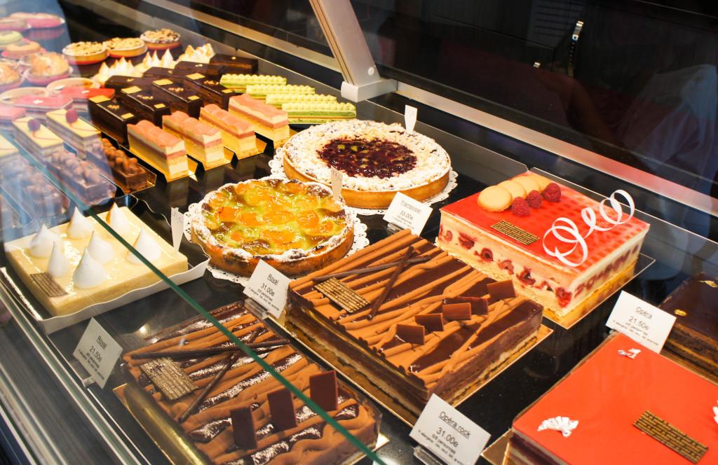 Pâtisseries, Maison Douceau, Nangis (77)