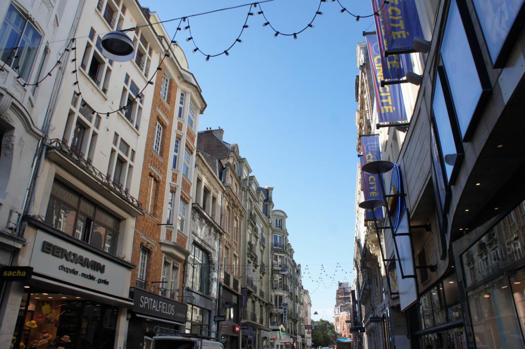 Dans les rues de Lille