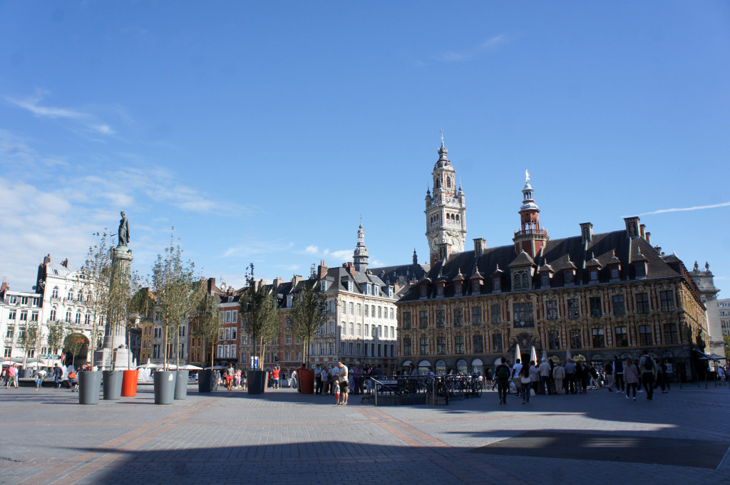 Sur la Grand Place, Lille