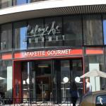 Le Lafayette Gourmet propose des pains... Paul en boulangerie. Quelle référence qualitative.