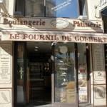 Une boulangerie très bien tenue : mélange d'éléments de communication Ronde des Pains, Baguépi, ...