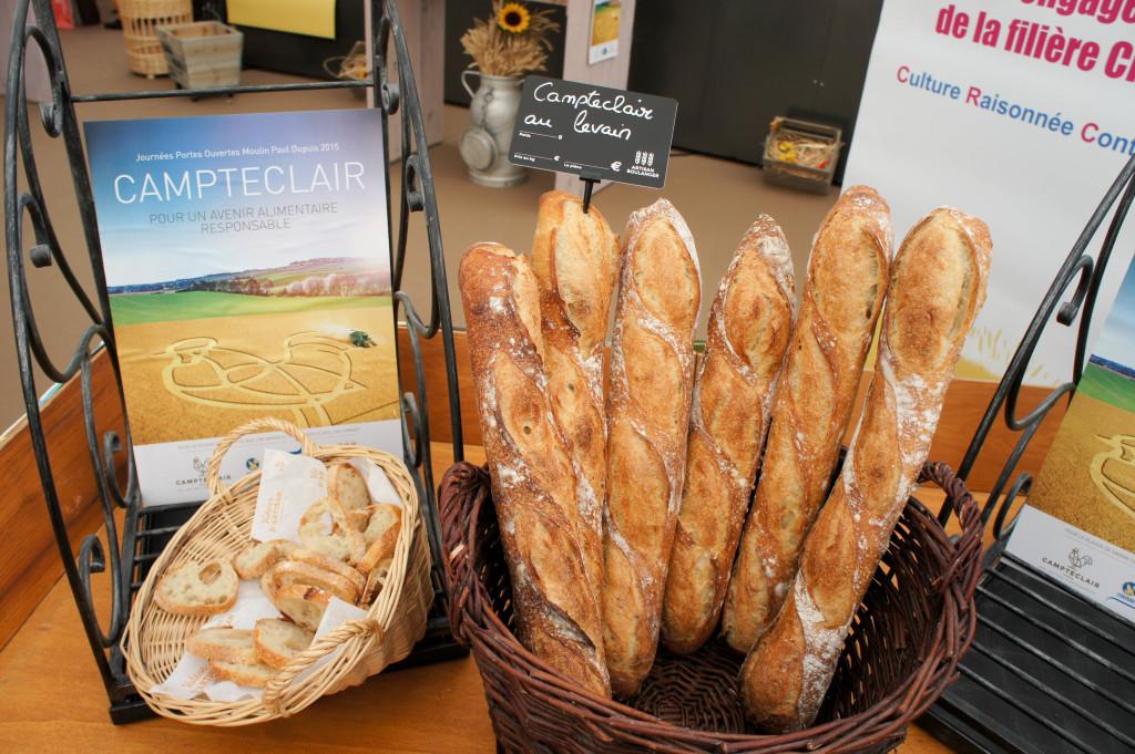 Baguettes Campteclair (CRC) au Levain
