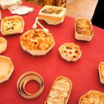 Sur le stand Panibois, des idées gourmandes dans des moules en bois. L'enjeu pour la société est aujourd'hui de donner envie, de susciter la créativité en inspirant des recettes dans ses contenants.