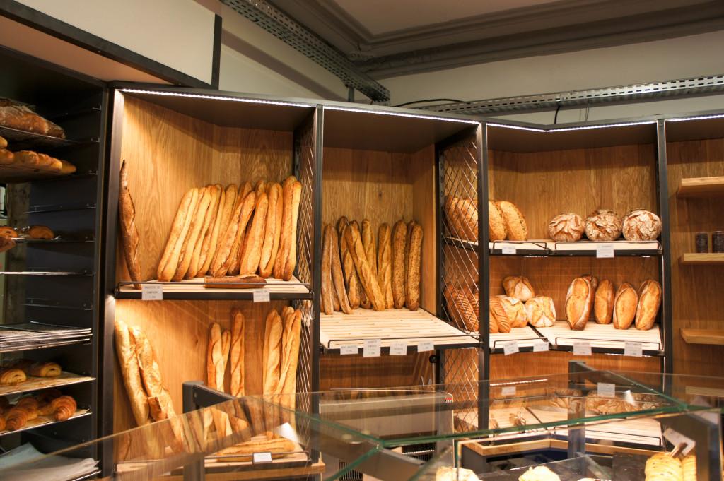 Le mur à pains