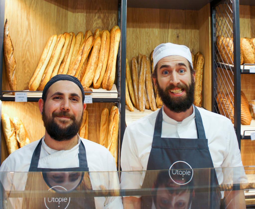 Sébastien et Erwan. Des professionnels souriants, entretenant chaque jour une maxime héritée d'Escoffier : rester humble.