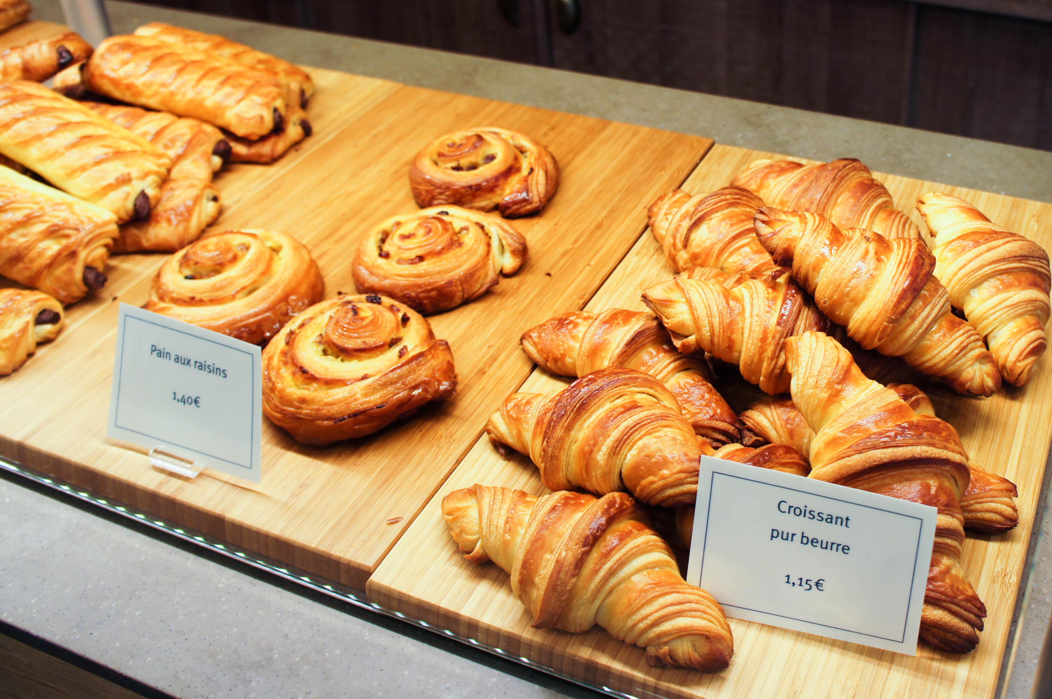 Viennoiserie, Boulangerie Terroirs d'Avenir painrisien