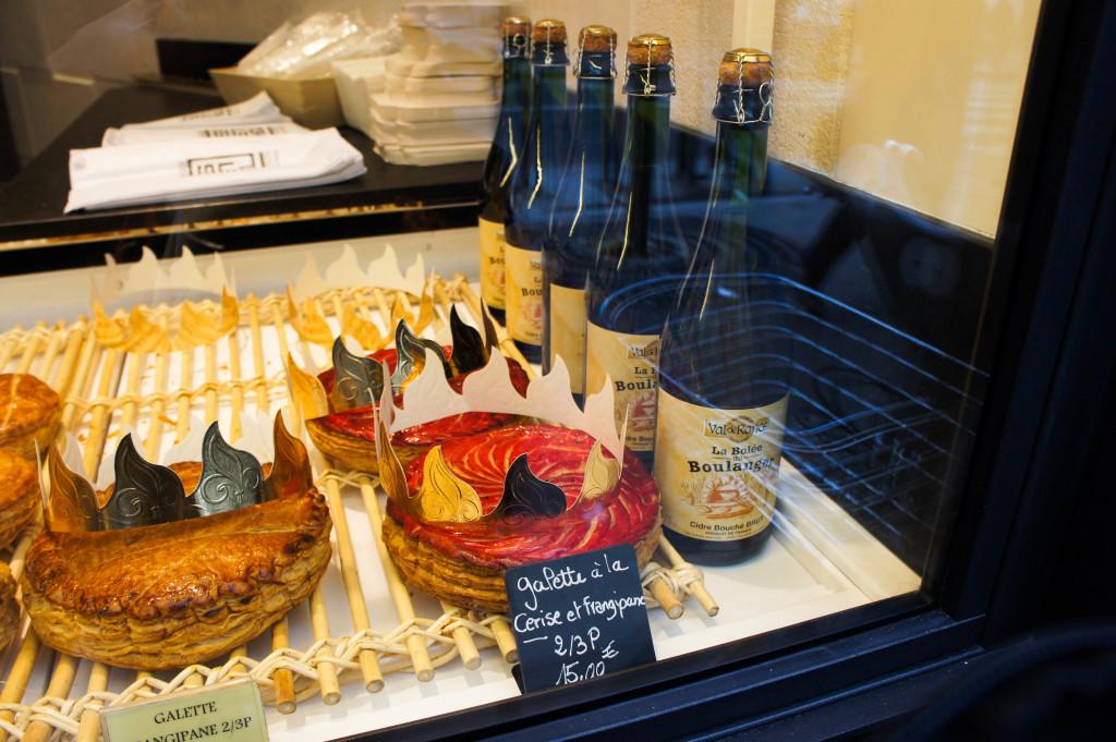 En janvier, les stars, ce sont elles : les galettes ! Chez les Bosson, elles se déclinent en de nombreuses saveurs au fil des semaines. Parmi elles, une création à la cerise.