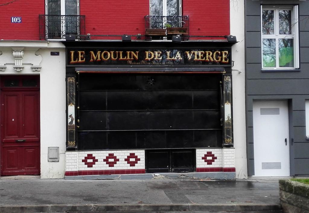 Le 105 rue Vercingétorix, aujourd'hui.