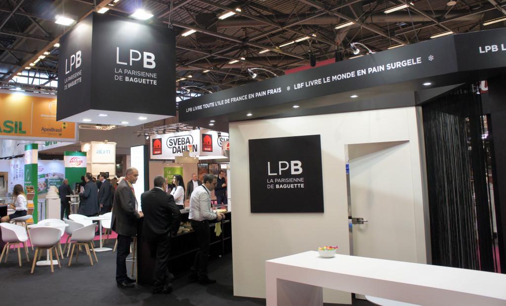 Le Stand LPB sur Europain 2016.