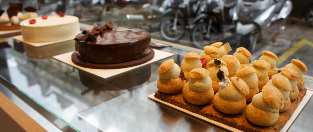 Un vrai travail a été mené sur le visuel : les pâtisseries sont très soignées visuellement.