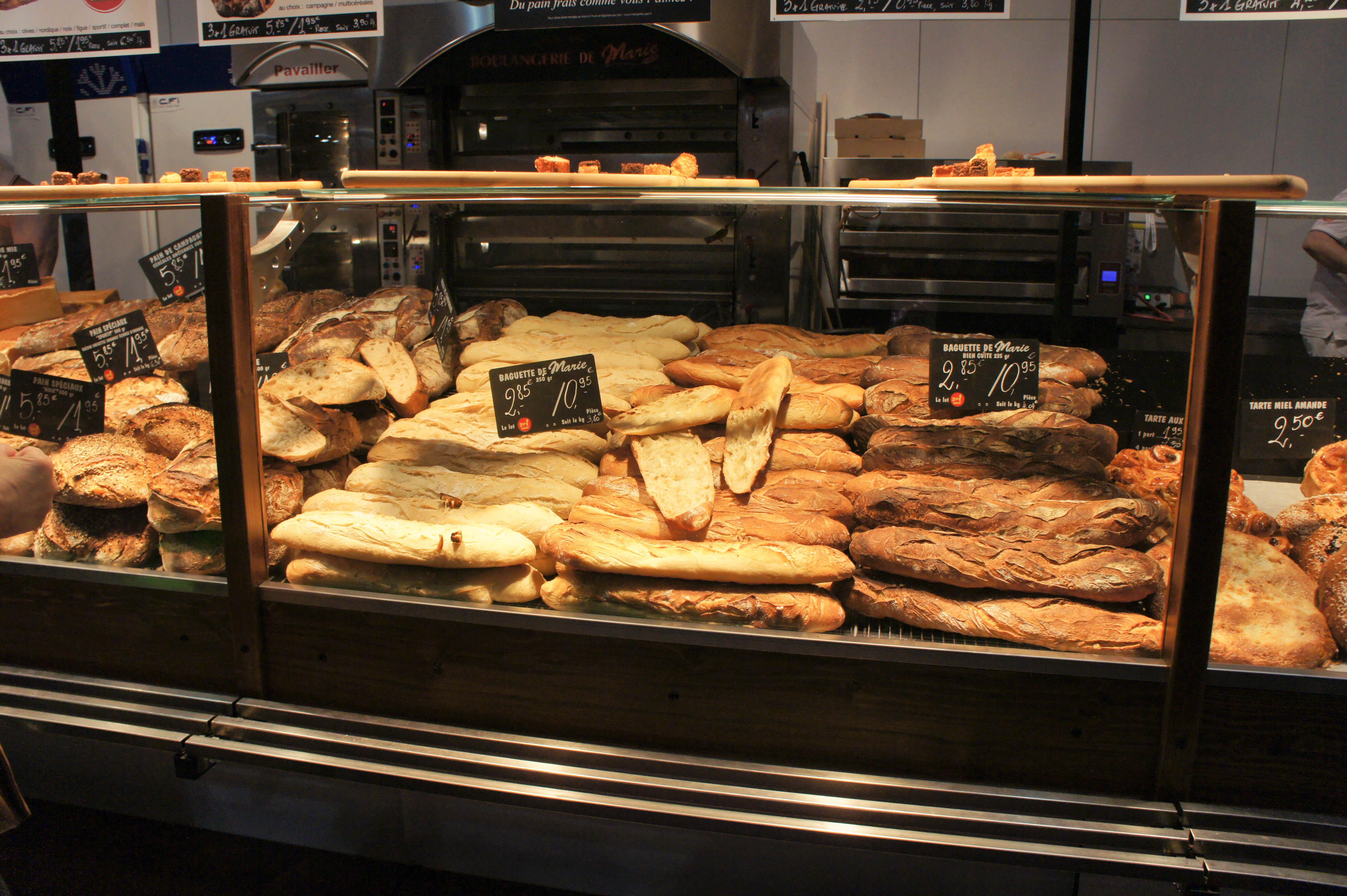 Baguettes marie blach re painrisien - Boulangerie marie salon de provence ...