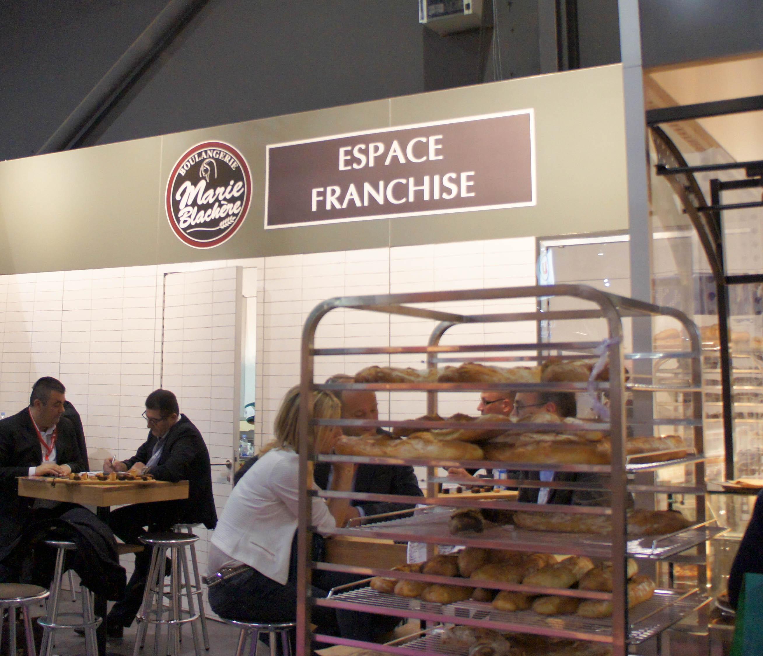 Espace franchise marie blach re painrisien for Salon de la franchise bordeaux