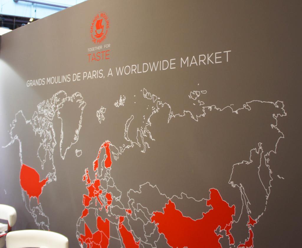 Les Grands Moulins de Paris, un marché mondial...