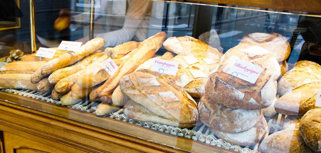 Les pains : Flûte Gana, campagne, pains biologiques, pains aux ingrédients, ...