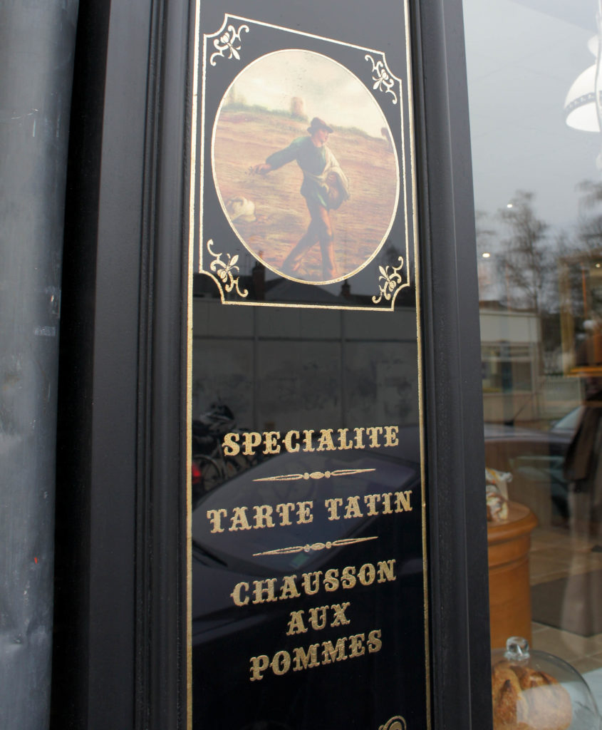 Détail de la devanture, L'Atelier du Talemelier, Tours (38)