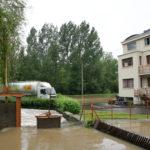 Les intempéries de la semaine passée n'avaient pas épargné le Moulin des Gaults : une partie du site avait été inondée.