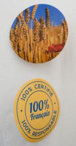 100% certifié, 100% responsable