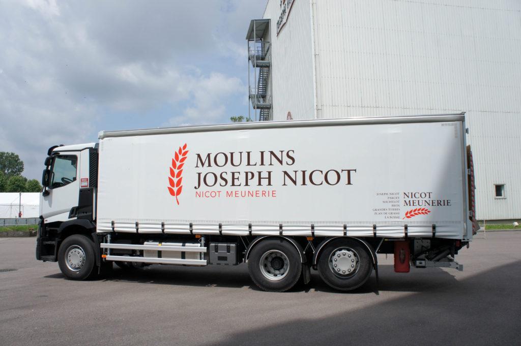 Camion de livraison, Portes Ouvertes Nicot Meunerie, Chagny (71)