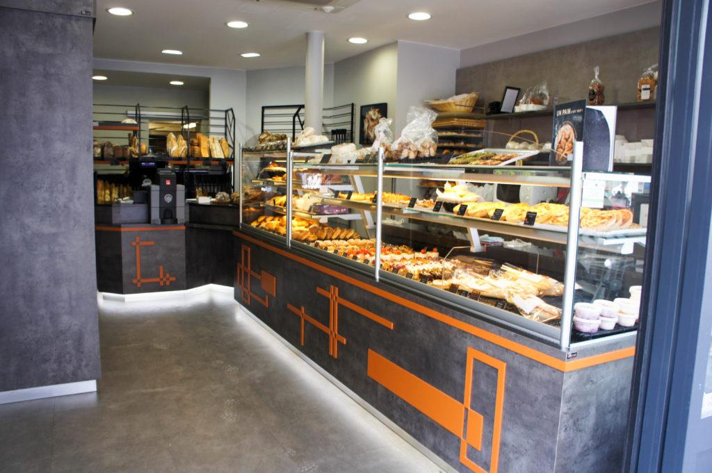 L'intérieur de la boulangerie Lalos & Milton Danchin