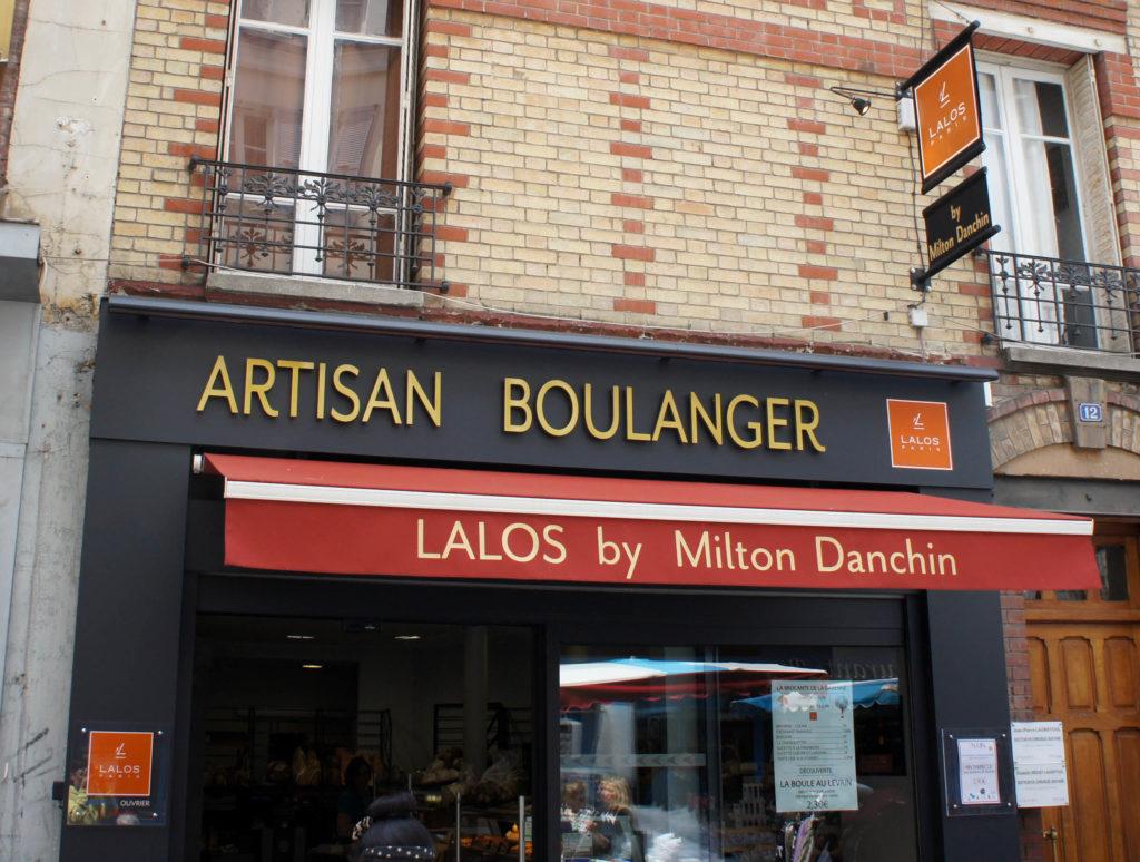 Boulangerie Lalos & Milton Danchin