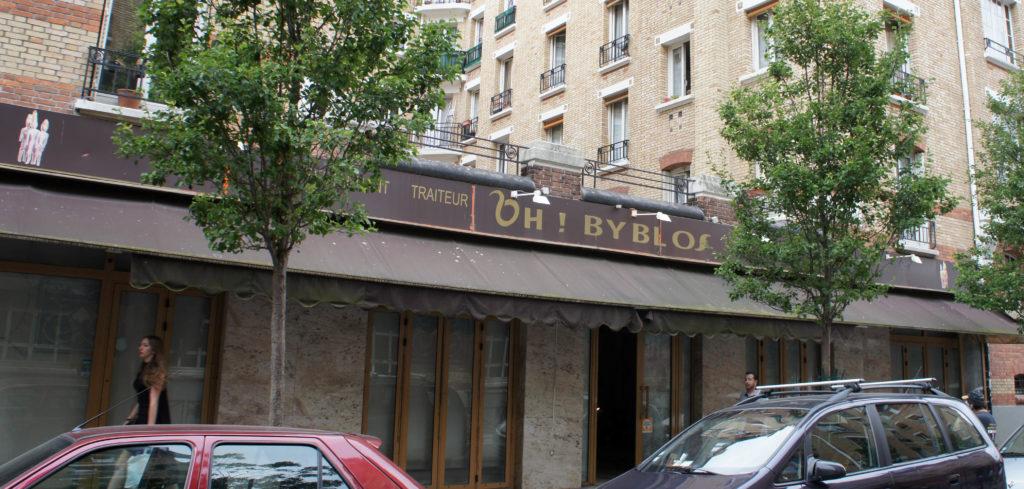 Travaux en cours dans l'ex Oh! Byblos