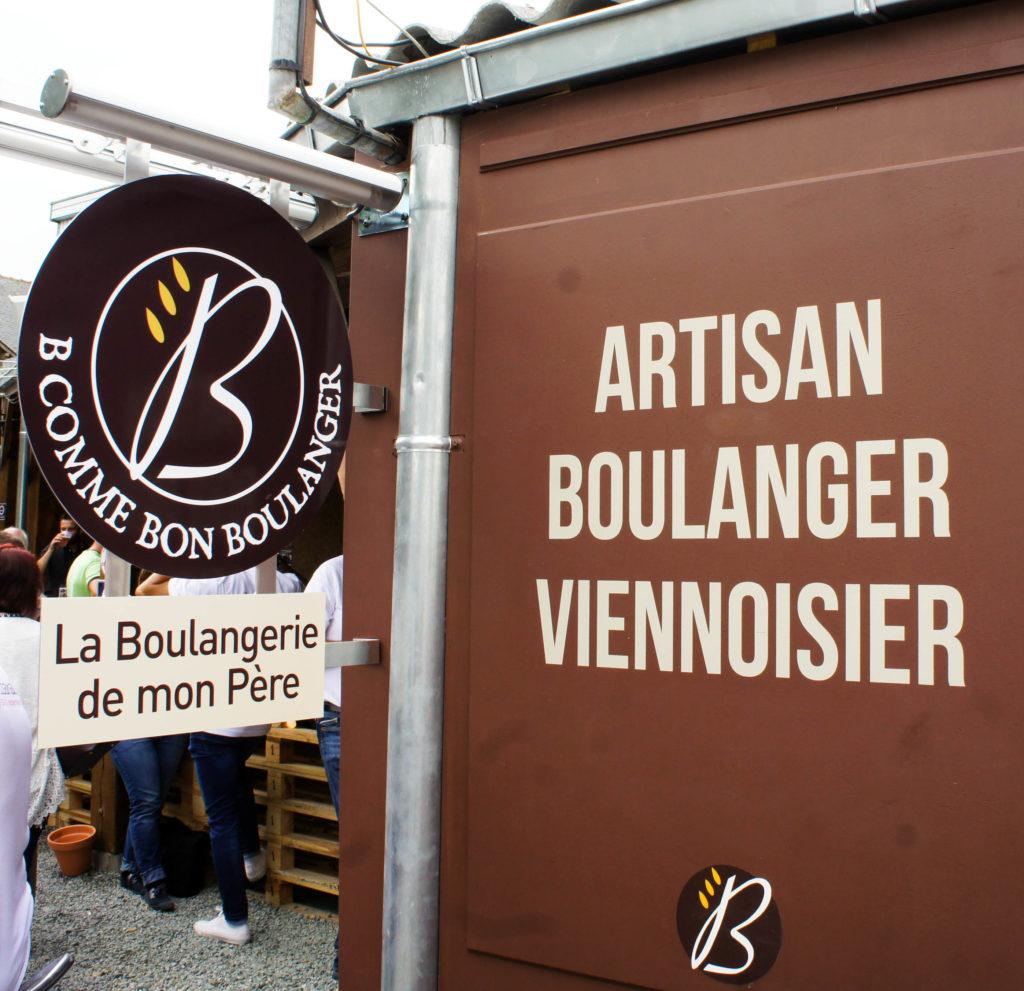 Enseigne, Les Artisanales, Minoterie Bourseau, Nozay (44)